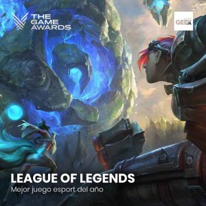 League Of Legends - Mejor juego esport del año
