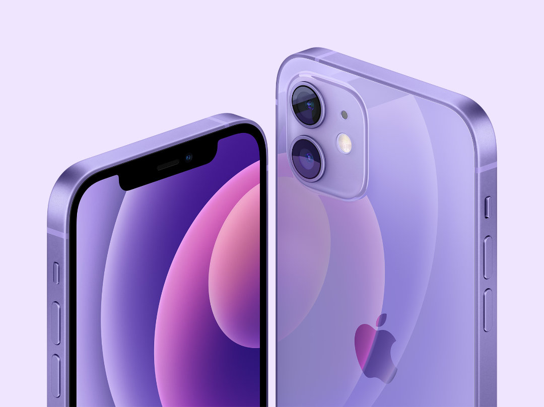 iPhone 12 y 12 mini en Morado - Evento de Apple 2021